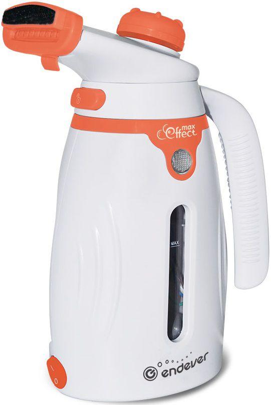 Отпариватель ENDEVER Q-418,  белый  / оранжевый [60014]