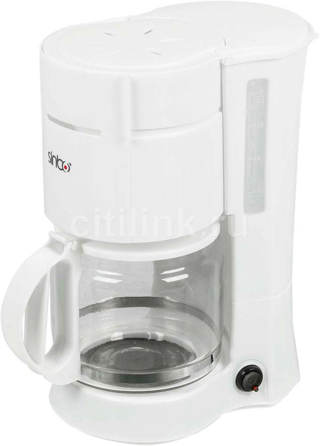 Кофеварка SINBO SCM 2940,  капельная,  белый