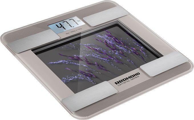Весы REDMOND RS-730, до 180кг, цвет: серый
