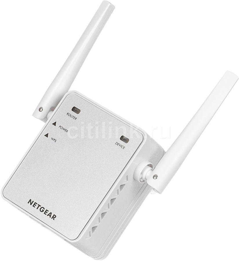Повторитель беспроводного сигнала NETGEAR EX2700-100PES,  белый