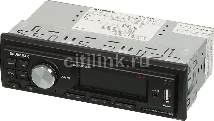 Автомагнитола SOUNDMAX SM-CCR3052F,  USB,  SD/MMC