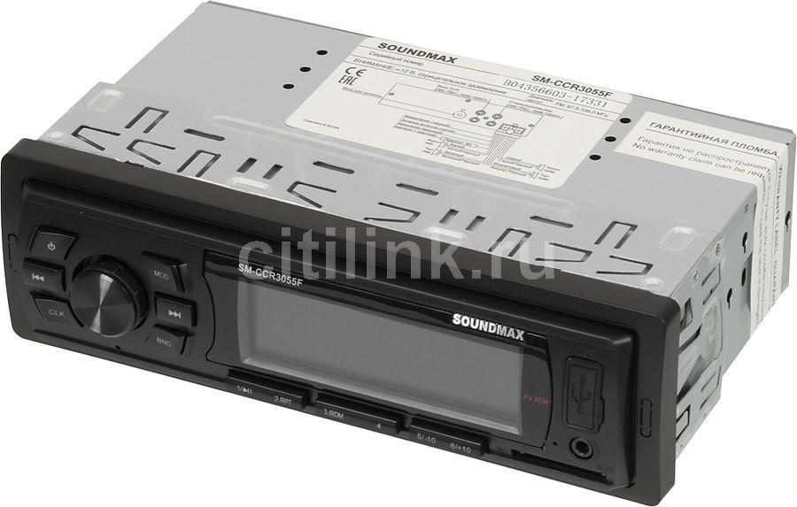 Автомагнитола SOUNDMAX SM-CCR3055F,  USB,  SD/MMC