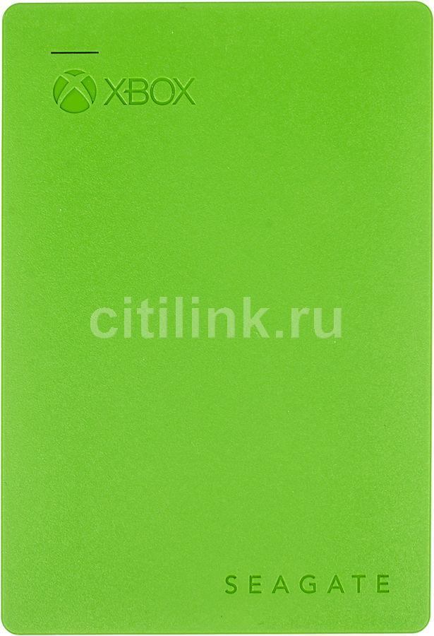 Внешний жесткий диск SEAGATE XBOX STEA2000403, 2Тб, зеленый