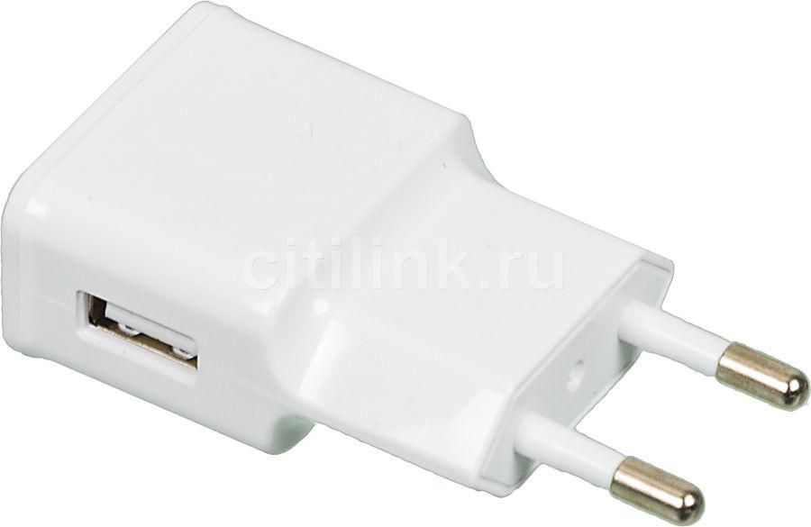 Сетевое зарядное устройство BURO TJ-159w,  USB,  2.1A,  белый