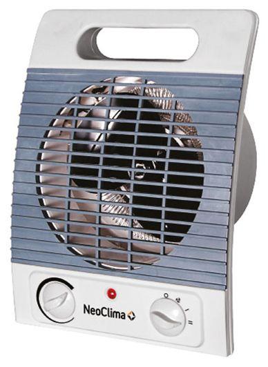 Тепловентилятор NEOCLIMA FH-05,  2000Вт,  белый,  серый