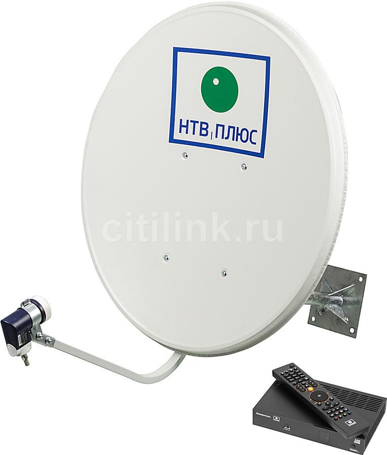 Комплект спутникового телевидения НТВ+ HD SIMPLE III СТАРТ черный