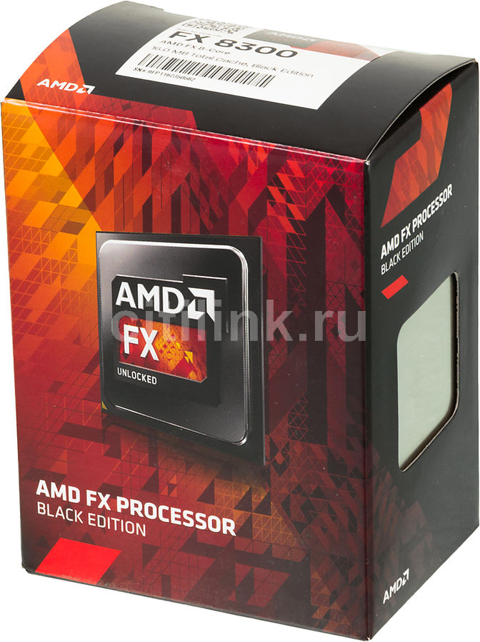 Процессор AMD FX 8300, SocketAM3+ BOX [fd8300wmhkbox]