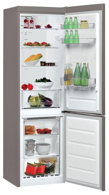 Холодильник WHIRLPOOL BSNF 8101 OX,  двухкамерный,  нержавеющая сталь