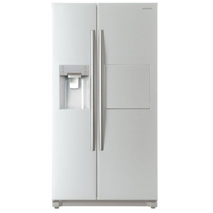 Холодильник DAEWOO FRN-X22F5CW,  двухкамерный, белый