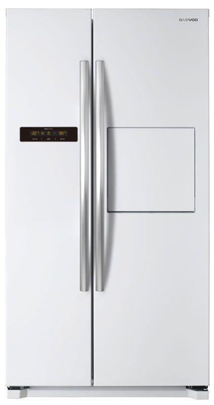 Холодильник DAEWOO FRN-X22H5CW,  двухкамерный, белый