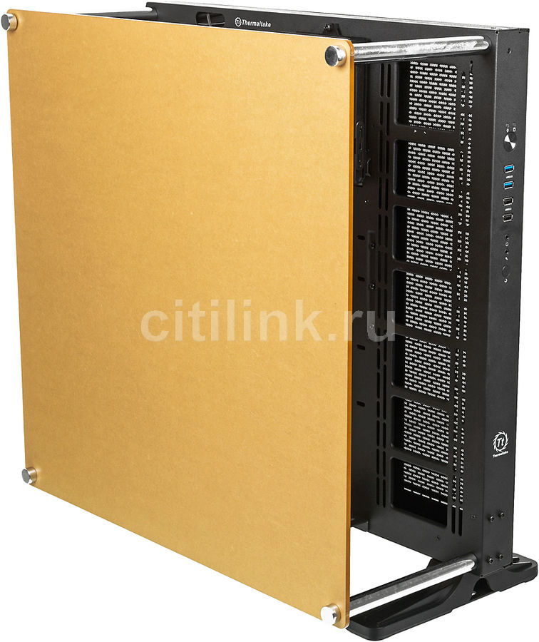 Корпус ATX THERMALTAKE Core P5, Midi-Tower, без БП,  черный