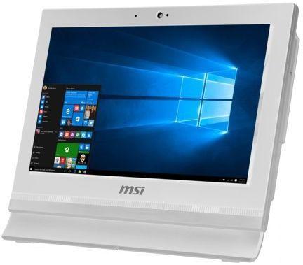 Моноблок MSI AP1622ET-036RU, Intel Celeron 1037U, 4Гб, 500Гб, Intel HD Graphics, Windows 10, белый [9s6-a61512-036]