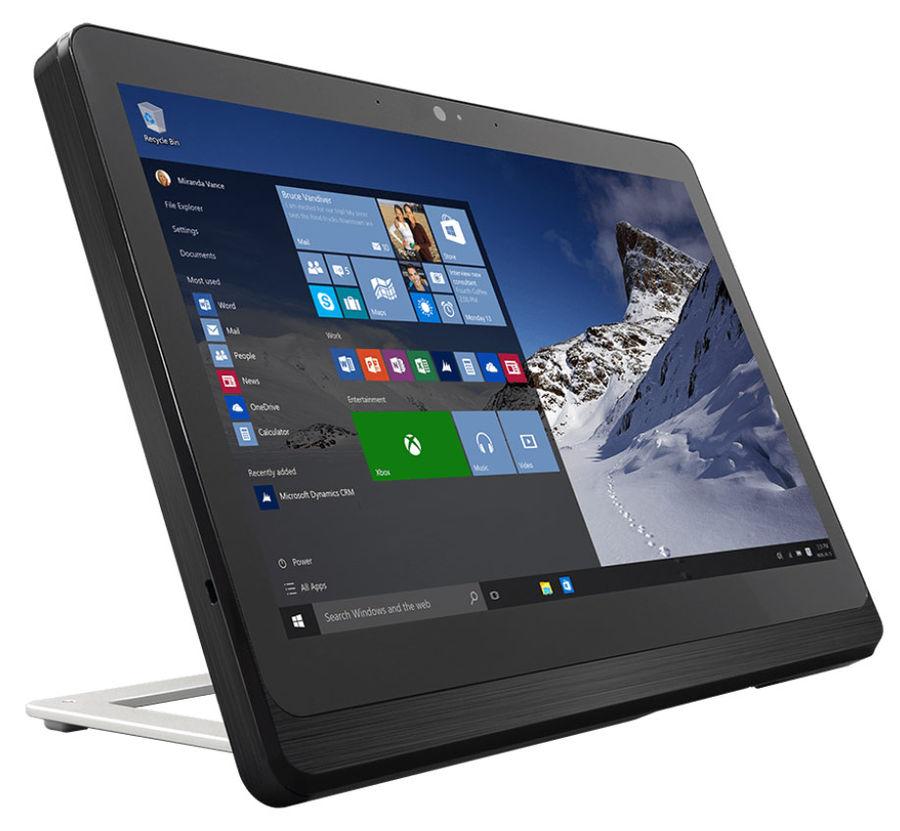Моноблок MSI AP16 Flex-035RU, Intel Celeron J1900, 4Гб, 500Гб, Intel HD Graphics, Windows 10, черный и серебристый [9s6-a62213-035]