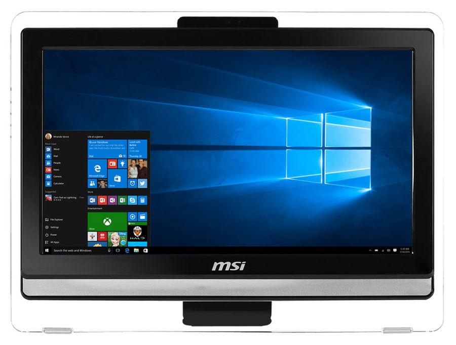 Моноблок MSI Pro 20ET 4BW-009RU, Intel Celeron N3150, 4Гб, 500Гб, Intel HD Graphics, DVD-RW, Free DOS, черный [9s6-aa8b11-009]