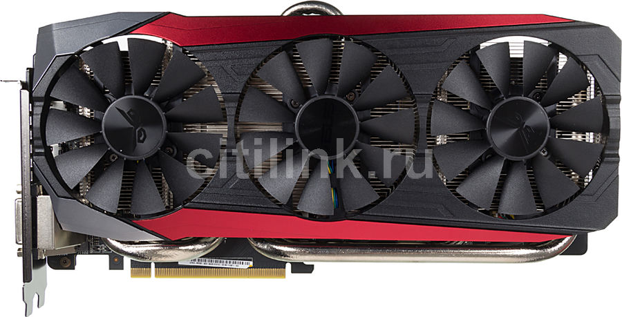 Видеокарта ASUS Radeon R9 390,  STRIX-R9390-DC3-8GD5-GAMING,  8Гб, GDDR5, OC,  Ret