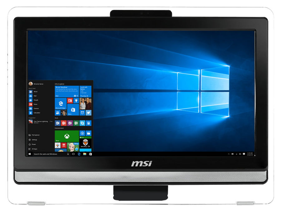 Моноблок MSI Pro 20ET 4BW-013RU, Intel Pentium N3700, 4Гб, 500Гб, Intel HD Graphics, DVD-RW, Windows 10, черный [9s6-aa8b11-013]