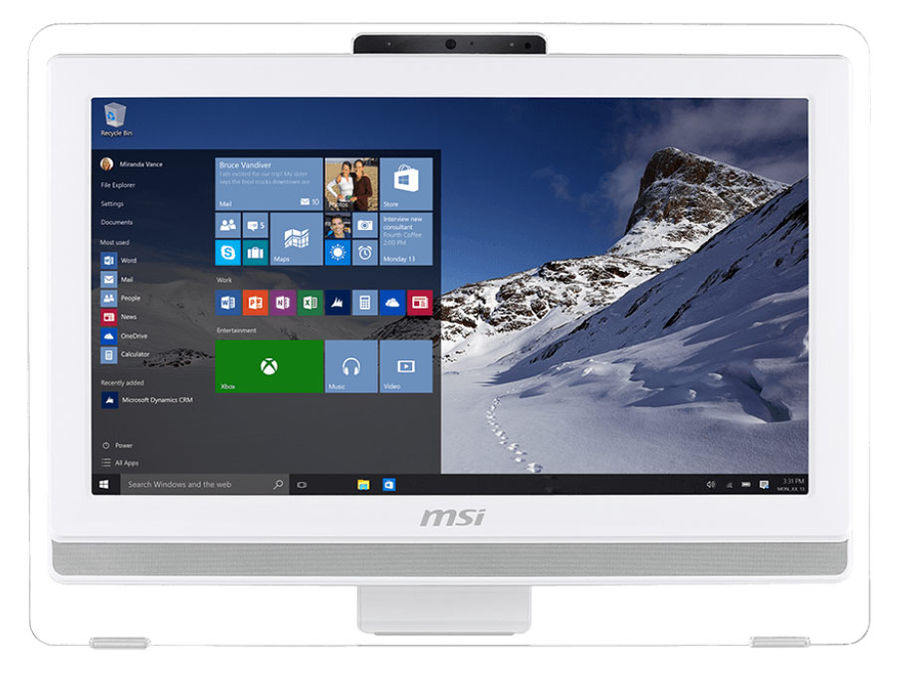 Моноблок MSI AE201T-095RU, Intel Core i3 4170, 4Гб, 500Гб, Intel HD Graphics 4400, DVD-RW, Free DOS, белый [9s6-aa8212-095]