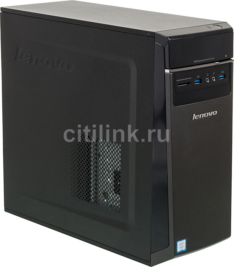 Компьютер  LENOVO IdeaCentre 300-20ISH,  Intel  Core i3  6100,  DDR4 4Гб, 500Гб,  Intel HD Graphics 530,  DVD-RW,  CR,  Windows 10 Home,  черный [90da0062rs]