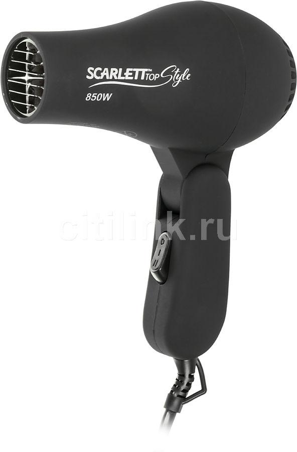Фен SCARLETT SC-HD70T02, 850Вт, черный