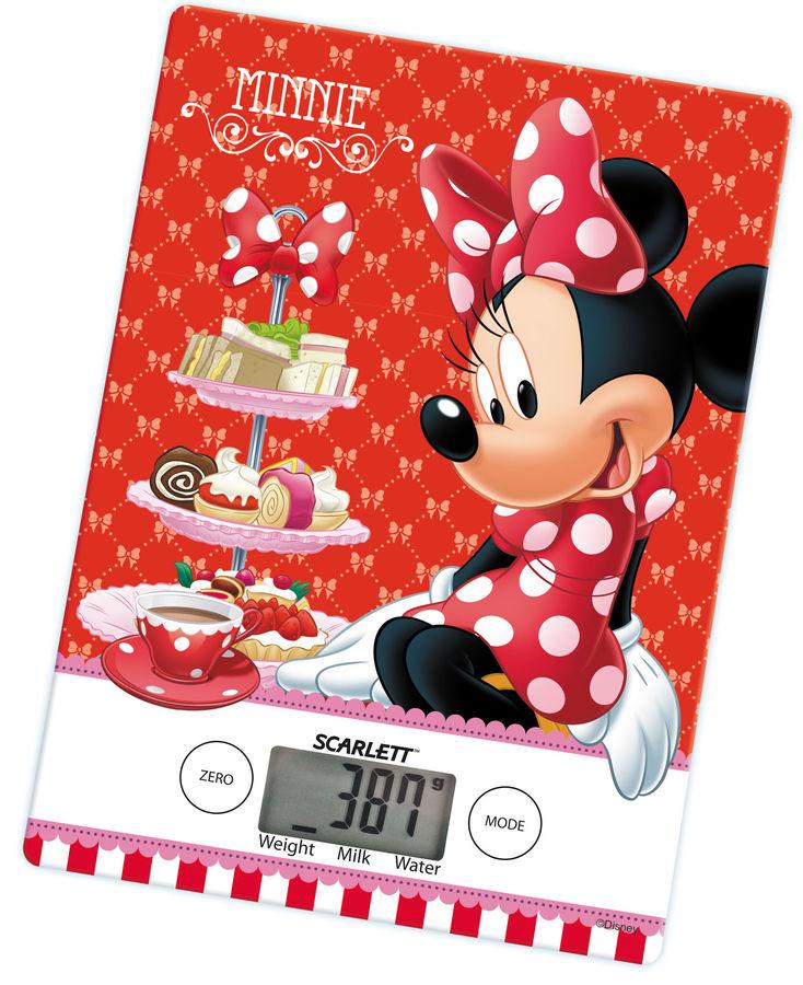 Весы кухонные SCARLETT SC-KSD57P99,  красный/рисунок
