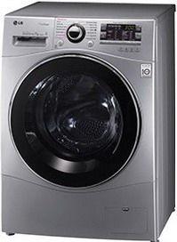 Стиральная машина LG FH4A8TDS4, фронтальная загрузка,  серебристый