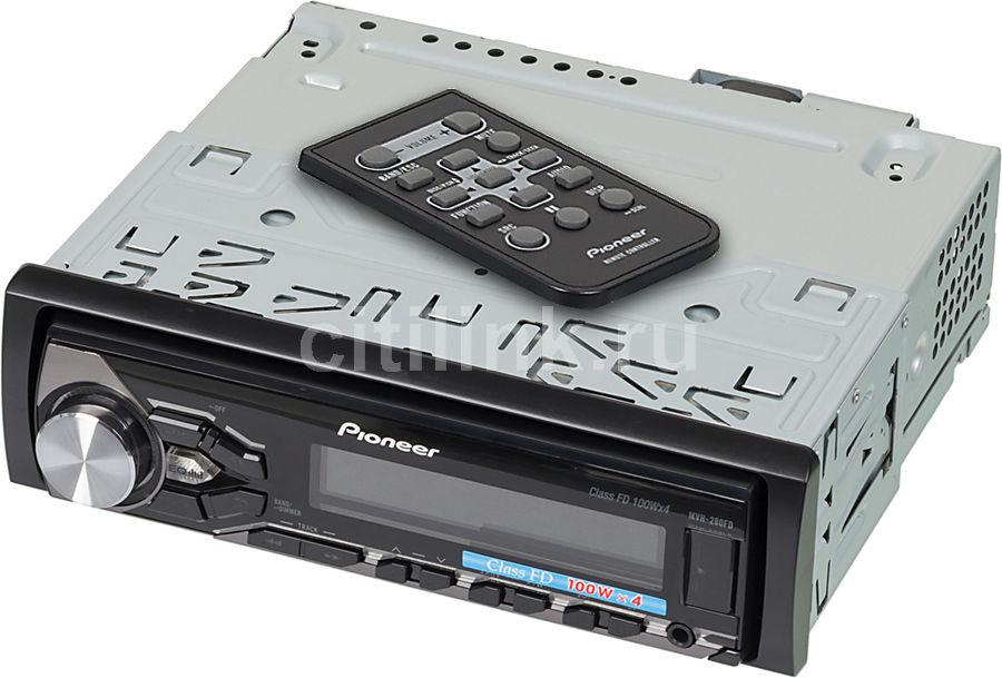 Автомагнитола PIONEER MVH-280FD,  USB