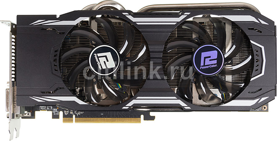 Видеокарта POWERCOLOR Radeon R9 380X,  AXR9 380X 4GBD5-PPDHE,  4Гб, GDDR5, Ret
