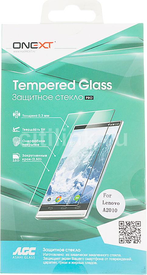 Защитное стекло ONEXT для Lenovo A2010,  1 шт [40992]