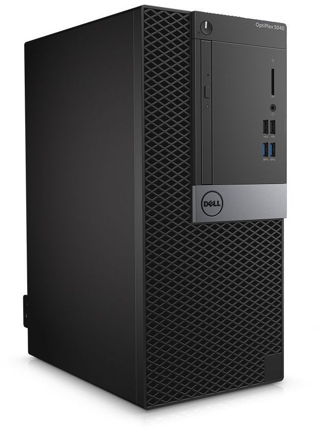 Компьютер  DELL Optiplex 5040,  Intel  Core i7  6700,  DDR3L 8Гб, 500Гб,  Intel HD Graphics 530,  DVD-RW,  Windows 7 Professional,  черный и серебристый [5040-1974]