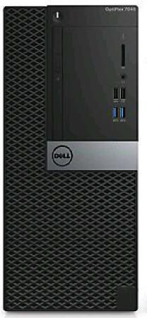 Компьютер  DELL Optiplex 7040,  Intel  Core i5  6500,  DDR4 4Гб, 500Гб,  Intel HD Graphics 530,  DVD-RW,  Windows 7 Professional,  черный и серебристый [7040-2063]