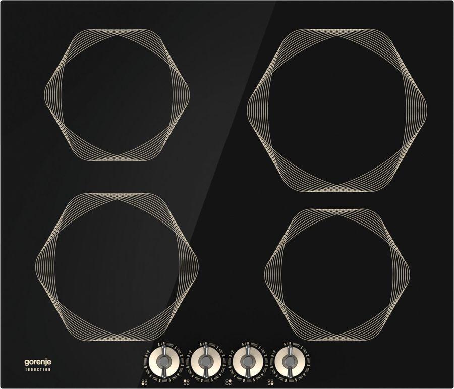Варочная панель GORENJE Infinity IC6INI,  индукционная,  независимая,  черный