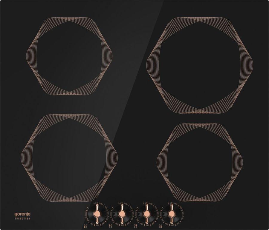Варочная панель GORENJE Infinity IC6INB,  индукционная,  независимая,  черный
