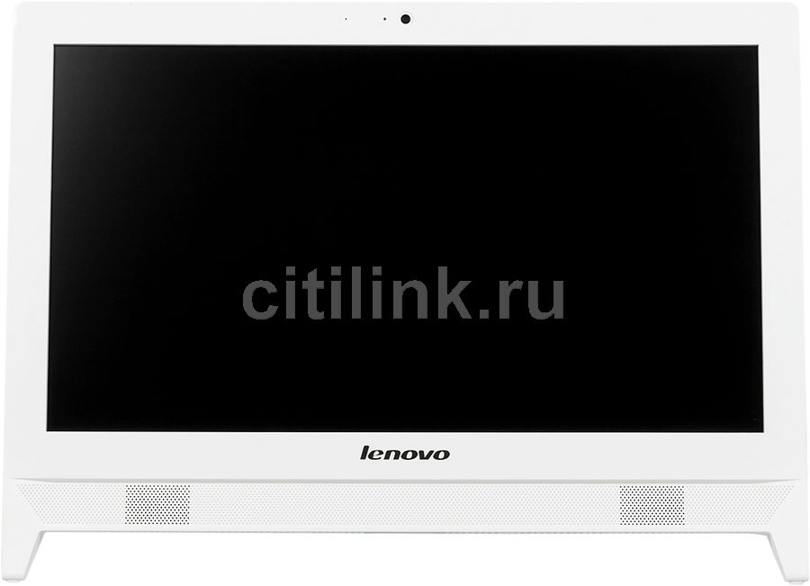 Моноблок LENOVO C20-00, Intel Celeron N3050, 2Гб, 500Гб, Intel HD Graphics, Free DOS, белый [f0bb003brk]