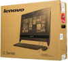 Моноблок LENOVO C20-00, Intel Celeron N3050, 4Гб, 500Гб, Intel HD Graphics, DVD-RW, Free DOS, черный [f0bb003erk] вид 11