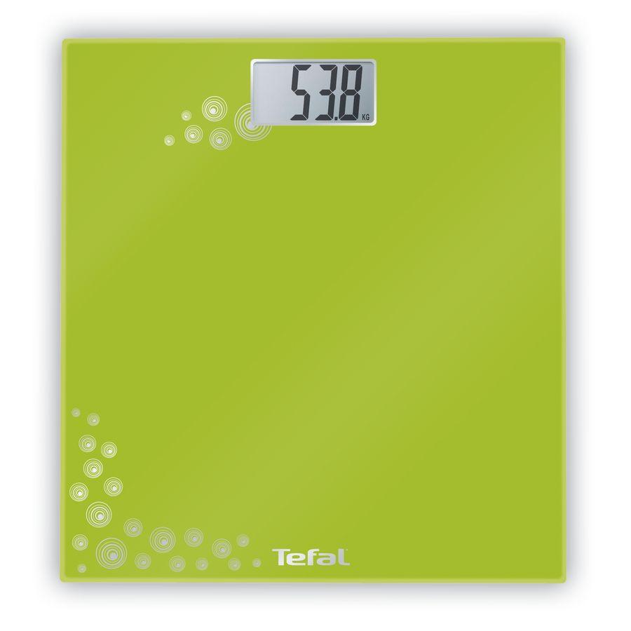Весы TEFAL PP1003V0, до 150кг, цвет: зеленый [2100065565]