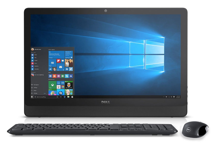 Моноблок DELL Inspiron 3459, Intel Core i3 6100U, 4Гб, 1000Гб, Intel HD Graphics 520, DVD-RW, Windows 10 Professional, черный [3459-1714]