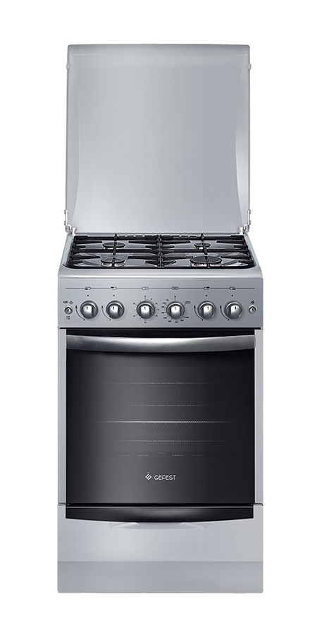 Газовая плита GEFEST ПГ 5100-02 00068,  газовая духовка,  серый