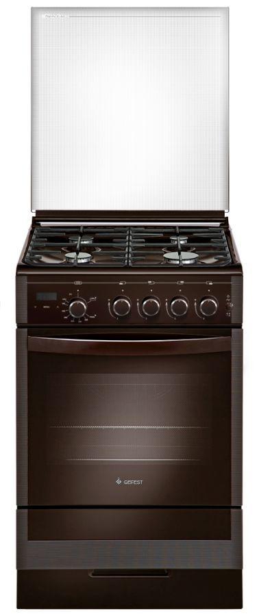 Газовая плита GEFEST ПГ 5300-03 0047,  газовая духовка,  коричневый