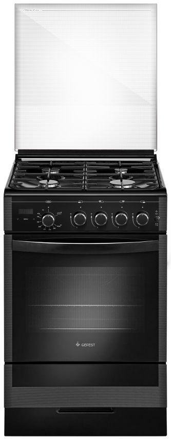 Газовая плита GEFEST ПГ 5300-03 0046,  газовая духовка,  черный