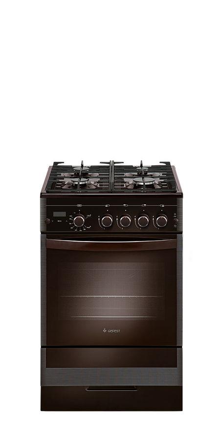 Газовая плита GEFEST ПГ 5500-03 0045,  газовая духовка,  коричневый
