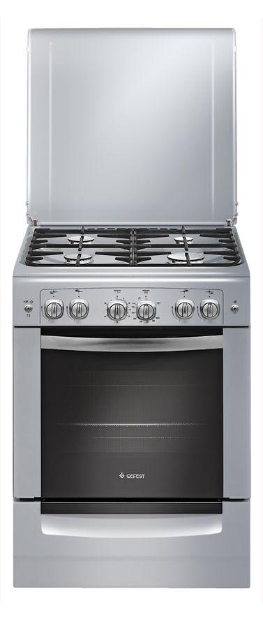 Газовая плита GEFEST ПГ 6100-02 0068,  газовая духовка,  серый