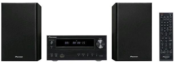 Музыкальный центр PIONEER X-HM15-K,  черный