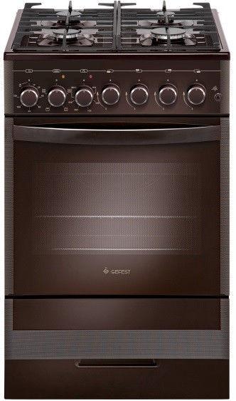 Газовая плита GEFEST ПГЭ 5502-02 0045,  электрическая духовка,  коричневый