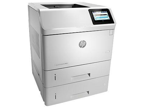 Принтер HP LaserJet Enterprise M606x лазерный, цвет:  белый [e6b73a]
