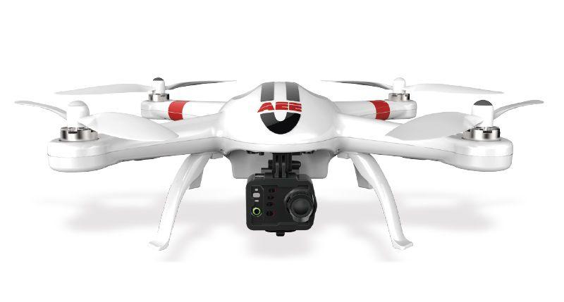 Квадрокоптер AEE AP10 с камерой,  белый [ad04-qc01-ae138-015]
