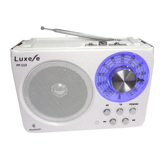 Радиоприемник СИГНАЛ Luxele РП-113,  белый