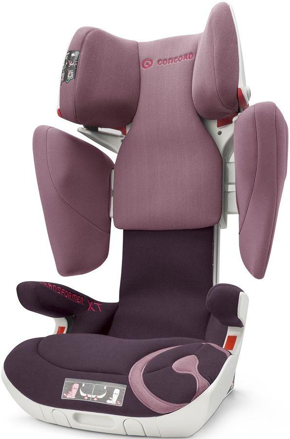 Автокресло детское CONCORD Transformer XT Raspberry Pink, 2/3, розовый [tfm0967tfr]