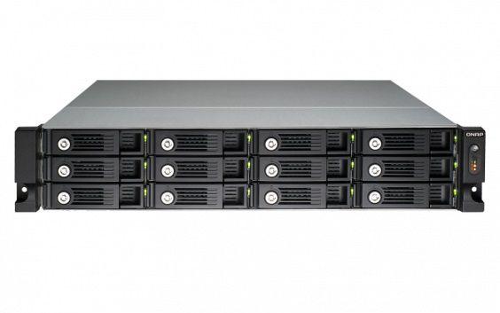 Сетевое хранилище NAS Qnap TS-1253U-RP 12-bay