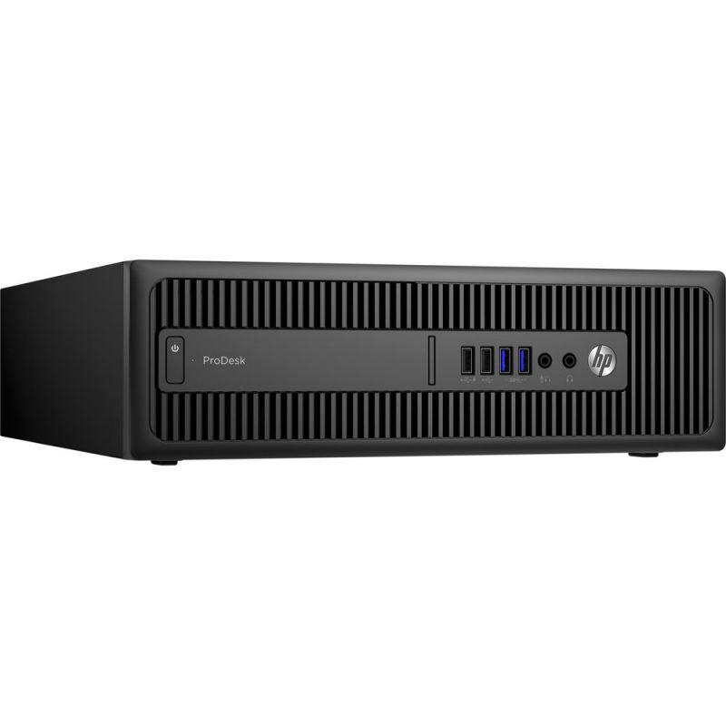 Компьютер  HP ProDesk 600 G2,  Intel  Core i3  6100,  DDR4 4Гб, 500Гб,  Intel HD Graphics 530,  DVD-RW,  Windows 7 Professional,  черный [t4j52ea]