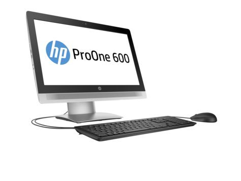 Моноблок HP ProOne 600 G2, Intel Core i5 6500, 4Гб, 500Гб, Intel HD Graphics 530, DVD-RW, Windows 7 Professional, черный и серебристый [p1g74ea]